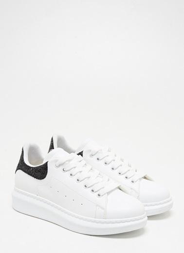 F By Fabrika Kadın Beyaz-Gümüş. Sneakers BERRY Renkli